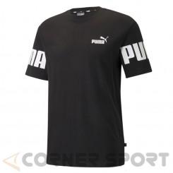 Мъжка тениска Puma Power Colorblock Tee 589428 01